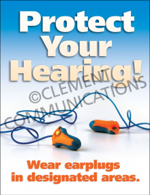 Hearing Protection - Earplugs - Posters
