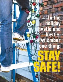 Seasonal Safety - Hustle - Posters