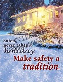 Seasonal Safety - Tradition - Posters