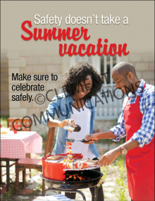 Seasonal Safety - Summer - Posters