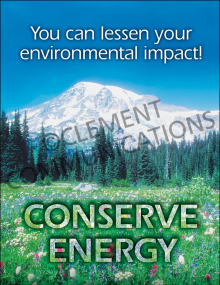Environmental Safety – Conserve –  Posters