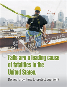 Fall Protection - Heights Posters