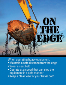 Heavy Equipment – On The Edge – Posters