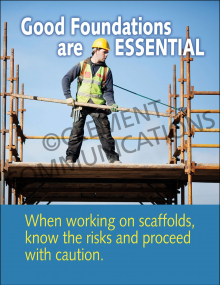 Scaffolding – Foundations – Posters