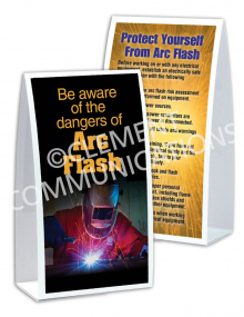 Electrical Safety – Arc Flash – Table-top Tent Cards