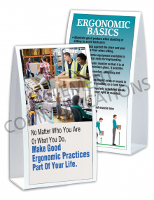 Ergonomics – Job – Table-top Tent Cards