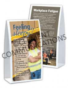 Health - Fatigue - Table-top Tent Cards