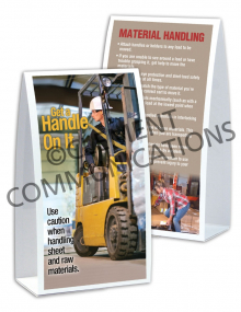 Material Handling - Raw - Table-top Tent Cards