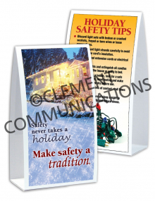 Seasonal Safety - Tradition - Table-Top Tent Cards