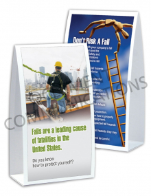 Fall Protection - Heights Table-top Tent Cards