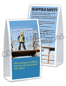 Scaffolding – Foundations – Table Top Tent Cards