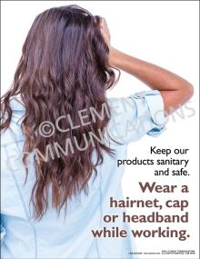 Wear a Hairnet Poster