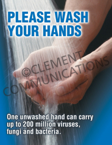 Please Wash Poster