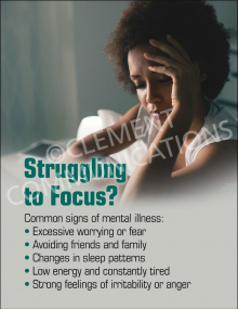 Struggling to Focus Poster