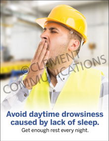 Daytime Drowsiness Poster
