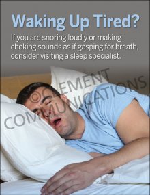Waking Up Tired? Poster