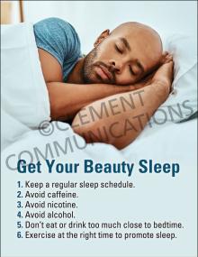 Fatigue-Get Your Beauty Sleep Poster