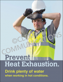 Heat Exhaustion Poster