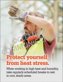 Protect Yourself From Heat Poster