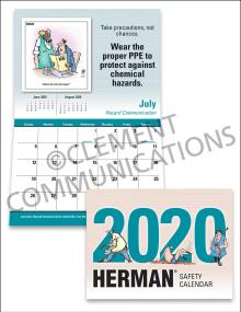 2020 HERMAN® Safety Calendar