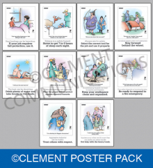 Herman Safety Poster Pack