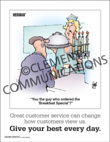 Customer Service - Great Customer Service - Posters