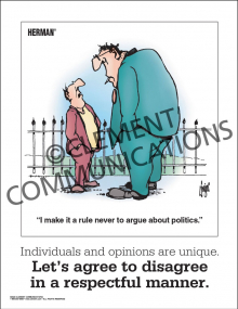 Respect - Agree to Disagree - Poster