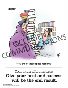 Effort - Extra Effort Matters - Poster