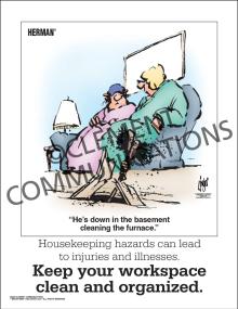 Housekeeping - Housekeeping Hazards - Posters