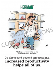 Increased Productivity Poster