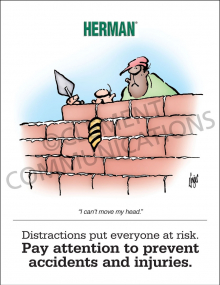 Distractions Risk Poster