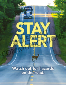Stay Alert Poster