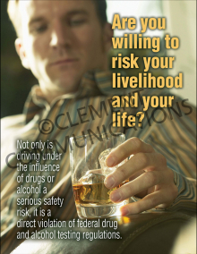 Are You Willing To Risk Your Livelihood Poster
