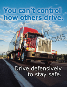 You Can't Control How Others Drive Poster
