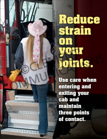 Reduce Strain On Your Joints Poster