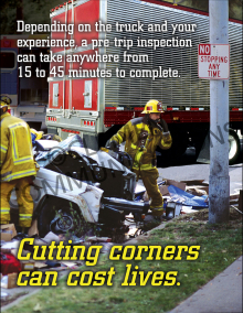 Cutting Corners Can Cost Lives Poster