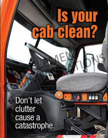 Is Your Cab Clean Poster