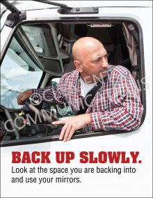 Back Up Slowly Poster