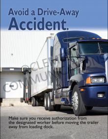 Drive-Away Accident Poster