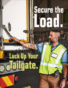 Secure The Load Poster