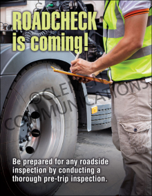Roadcheck Is Coming Poster
