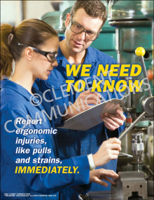 We Need to Know Poster