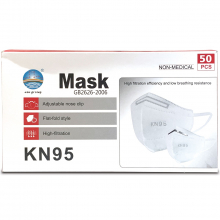 KN95 Face Mask - Box of 50 (Minimum of 2 boxes)