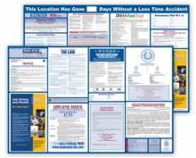 Labor Law Poster and OSHA Safety Poster Bundle