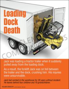 Loading Dock Death Poster