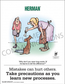 Mistakes Can Hurt Poster