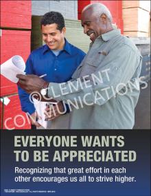 Everyone Wants - Appreciation Poster