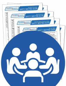 Electrical Safety – Arc Flash – Supervisor's Safety Script