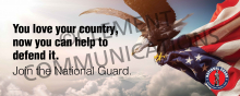 Love Your Country - Military Banner