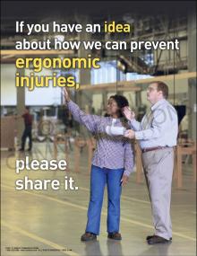 Ergonomics - Have An Idea Poster